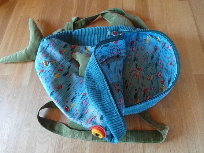 Makerist - Fischrucksack für ein Fischer - Nähprojekte - 3