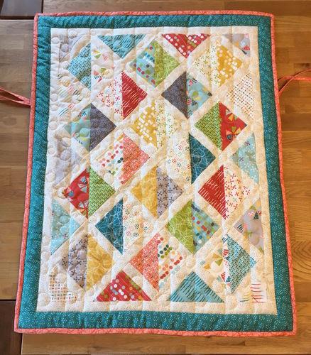 Makerist - Babyschalen Quilt - Patchwork-Projekte - 1