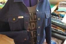 Makerist - Jeansjacke in Größe 50 genäht nach dem Kurs von Mia Führer! - 1