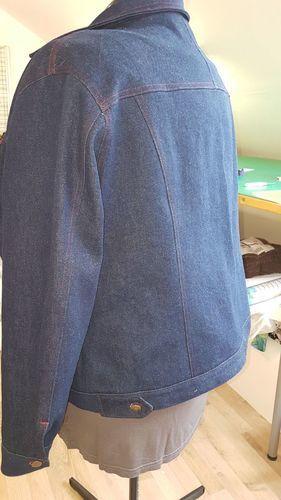 Makerist - Jeansjacke in Größe 50 genäht nach dem Kurs von Mia Führer! - Nähprojekte - 3
