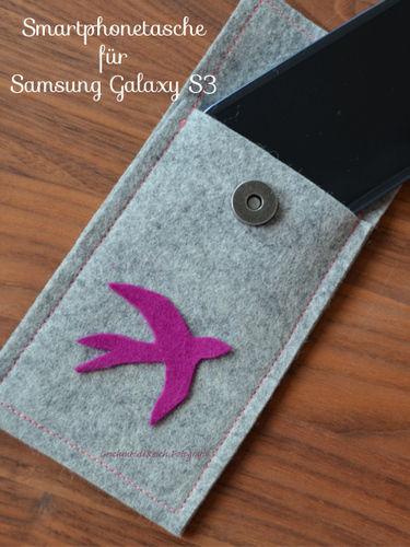 Makerist - Smartphonetasche aus Filz - Nähprojekte - 1