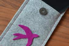 Makerist - Smartphonetasche aus Filz - 1