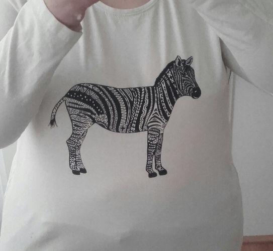 Makerist - Shirt für mich verschönert - Textilgestaltung - 1