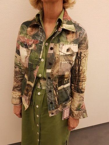 Makerist - Jeansjacke und Leinenkleid (Hemdblusenschnitt etwas abgeändert  - Nähprojekte - 1