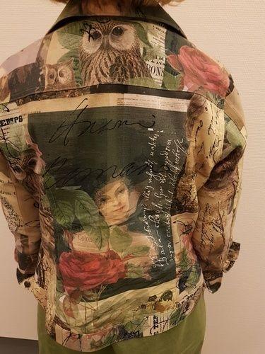 Makerist - Jeansjacke und Leinenkleid (Hemdblusenschnitt etwas abgeändert  - Nähprojekte - 2