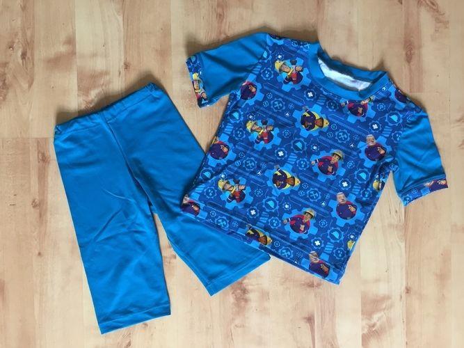 Makerist - ein Sommerschlafanzug mit Kurzarm - Nähprojekte - 1