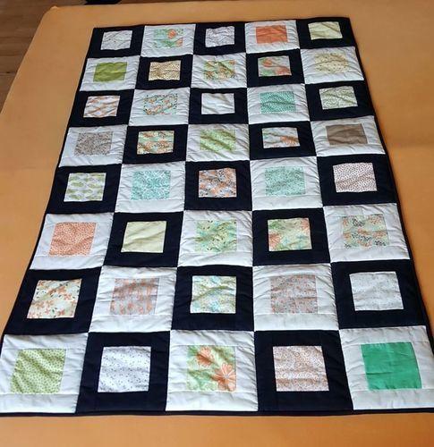 Makerist - erste Patchworkdecke - Patchwork-Projekte - 1