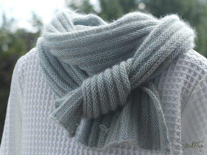 Makerist - PIKOLI - klassisch, schlichter Schal aus rechten und linken Maschen - Strickprojekte - 1