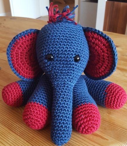 Makerist - Elefant für meine Tochter - Häkelprojekte - 1
