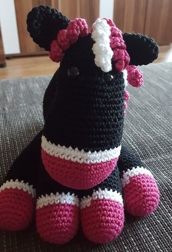 Makerist - Pferd aus Baumwolle - Häkelprojekte - 2