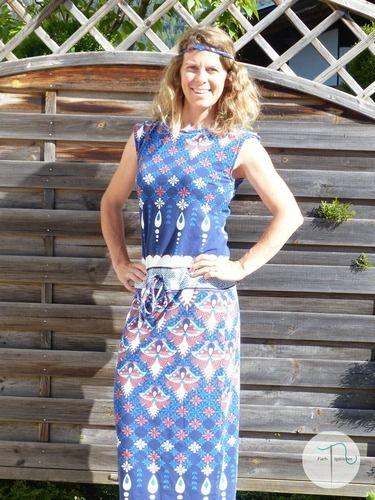 Makerist - Kleid Pia von Fadenkäfer aus tollem Jersey - Nähprojekte - 1
