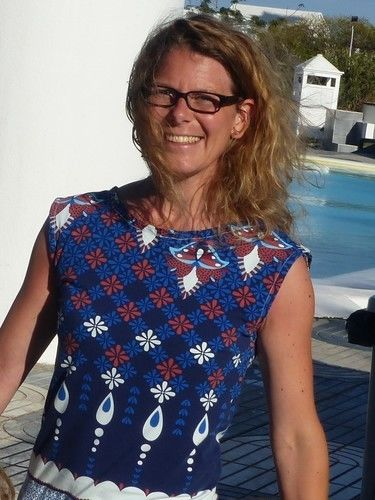 Makerist - Kleid Pia von Fadenkäfer aus tollem Jersey - Nähprojekte - 2