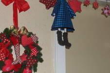 Makerist - Weihnachtliches an der Tür - 1