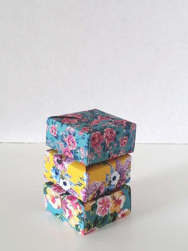 Makerist - ORIGAMI SQUARE BOX - DIY Showcase - 2