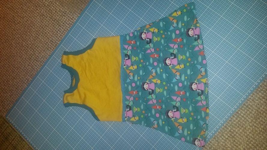 Makerist - Little Miss Fairy aus Jersey für meine Tochter in Gr. 86/92 die zweite  - Nähprojekte - 1