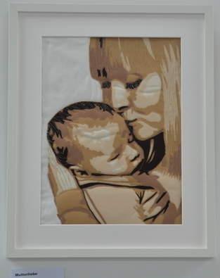 Makerist - Mutterliebe - Porträt als Wandbild - 1