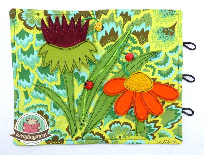 Makerist - Spielbuch aus Stoff mit vielen Krabbeltierchen - Nähprojekte - 2