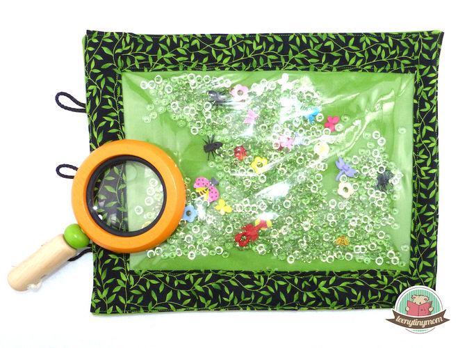 Makerist - Spielbuch aus Stoff mit vielen Krabbeltierchen - Nähprojekte - 3