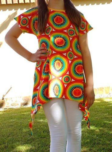 Makerist - Little Ebby aus Hippie-Jersey - Nähprojekte - 1