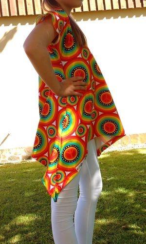 Makerist - Little Ebby aus Hippie-Jersey - Nähprojekte - 2