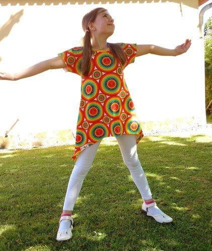 Makerist - Little Ebby aus Hippie-Jersey - Nähprojekte - 3
