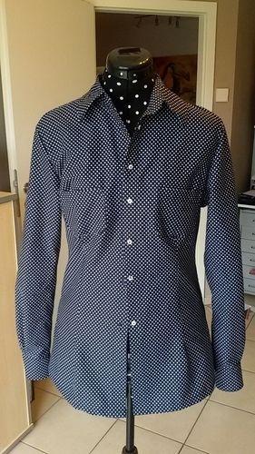 Makerist - meine erste Hemdbluse - Nähprojekte - 1