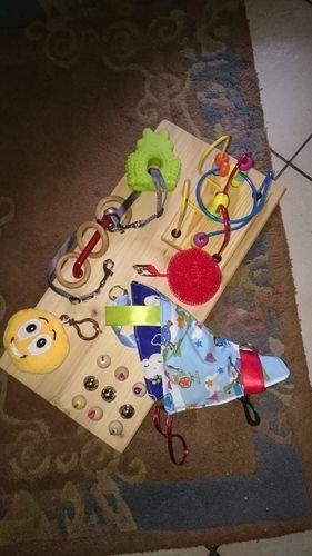 Makerist - Beschäftigung für behindertes Kind  - DIY-Projekte - 1