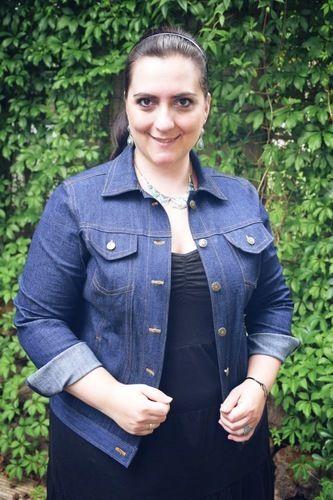 Makerist - Jeansjacke aus robustem Stretch Denim für mich - Nähprojekte - 1