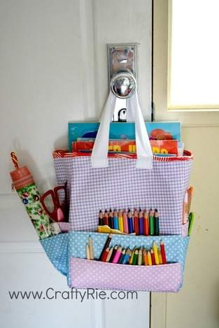 Makerist - Art Caddy Tote - 1