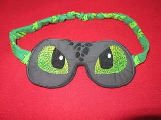 Makerist - Dinoschlafbrille - 1