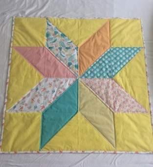 Makerist - Mein erster Quilt - eine Babydecke - 1