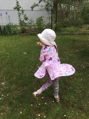 Makerist - Unser Lieblings Kleid 💜 - Nähprojekte - 1