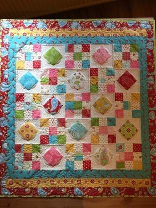 Makerist - Bunter Wandquilt - 1
