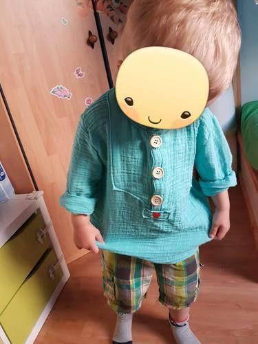 Makerist - Little Fritzi aus Musselin - Nähprojekte - 2