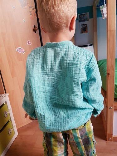 Makerist - Little Fritzi aus Musselin - Nähprojekte - 3