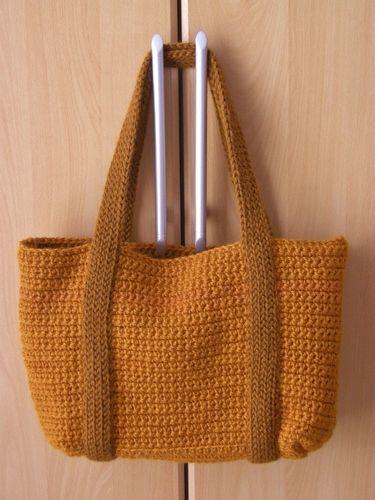 Makerist - mein erster Taschenversuch - Häkelprojekte - 1