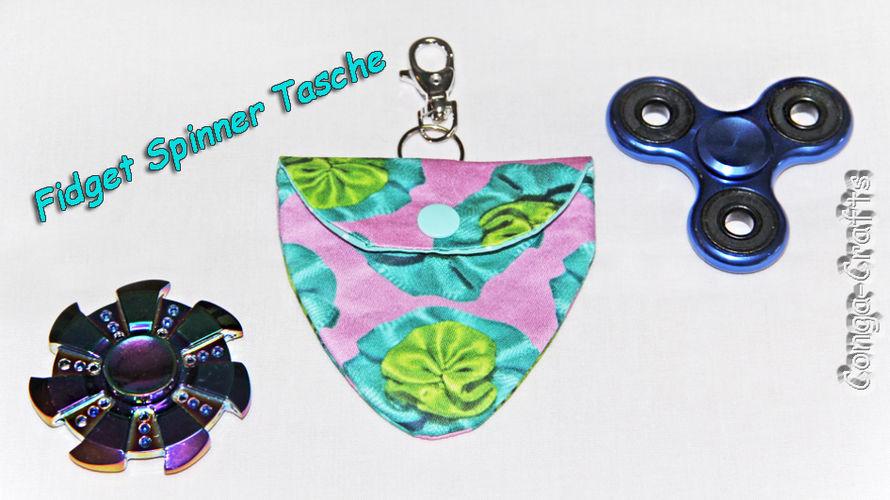 Makerist - Tasche für Fidget-Spinner entwerfen u. nähen - DIY-Projekte - 1
