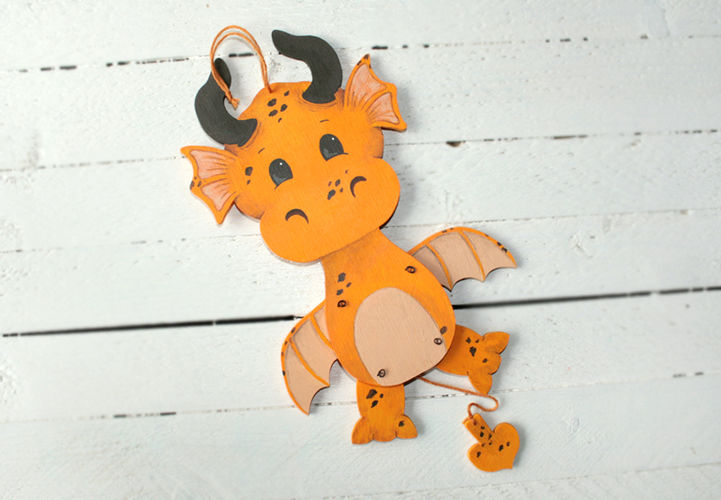 Makerist - Hampeldrache - DIY-Projekte - 1