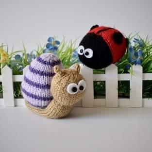 Makerist - Sammy Snail and Lil Ladybug - 1