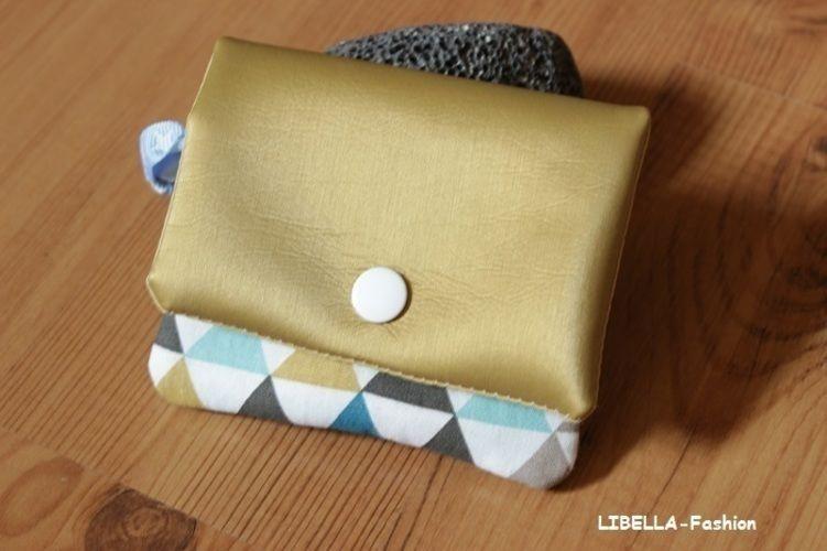 Makerist - Geldbörse mit Kunstleder - Nähprojekte - 1