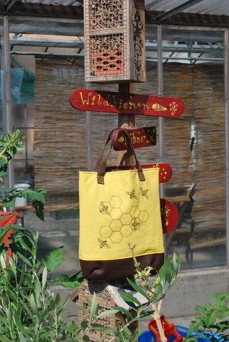 Makerist - Hübsche Tasche für alle die Bienen mögen - Textilgestaltung - 1