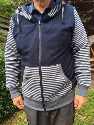 Makerist - Sweat-Jacke für meinen Mann - Nähprojekte - 3