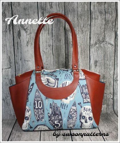 Makerist - Handtasche Annette - Nähprojekte - 1