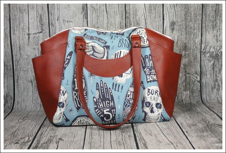 Makerist - Handtasche Annette - Nähprojekte - 2
