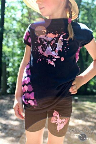 Makerist - Schmetterling 2.0 von Fusselfreies - Textilgestaltung - 2