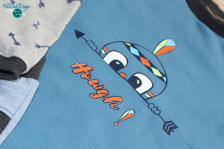 Makerist - Howgh! Spricht der kleine Indianer - Textilgestaltung - 1