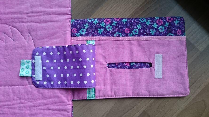 Makerist - Niedliche Wickeltasche und äußerst praktisch  - Nähprojekte - 3