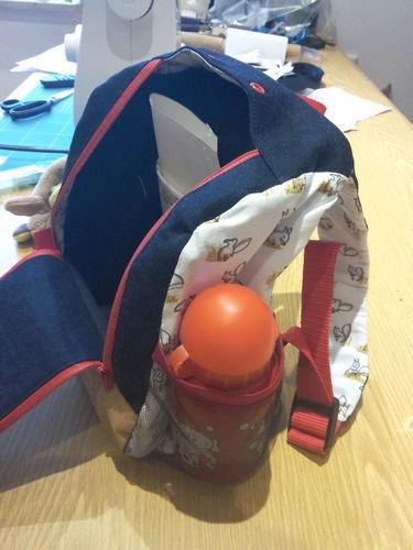 Makerist - KlapPack - ein tolles Teil von Shesmile, das schon a bissl Konzentration und Fingerspitzengefühl erfordert - Nähprojekte - 1