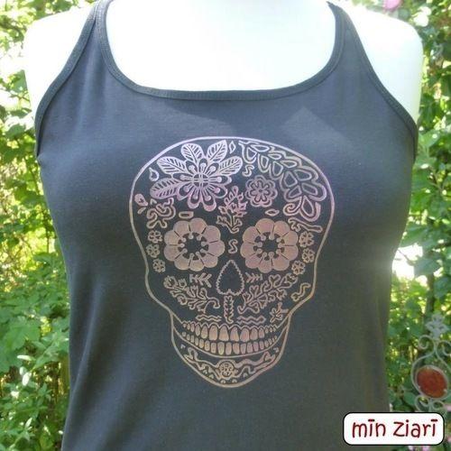 Makerist - Skull von Pellotta  - Textilgestaltung - 1