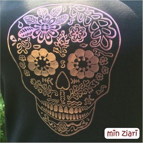 Makerist - Skull von Pellotta  - Textilgestaltung - 2